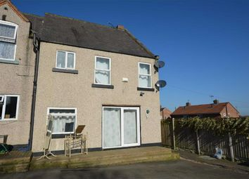 Thumbnail 2 bedroom end terrace house for sale in Queen Victoria Road, New Tupton, Chesterfield, Derbyshire