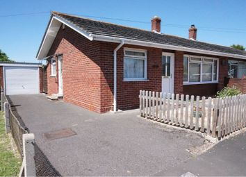Thumbnail 2 bed semi-detached bungalow for sale in Vicarage Close, Creech St Michael, Taunton