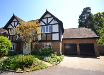 Thumbnail 5 bed detached house for sale in Pineridge Close, Weybridge