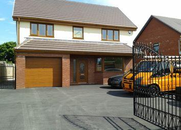 Thumbnail 5 bed detached house to rent in Mynydd Bach Y Glo, Waunarlwydd, Swansea