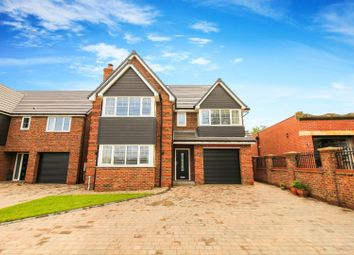 Thumbnail 5 bed detached house for sale in St Davids Park, Old Crow Hall Lane, Cramlington