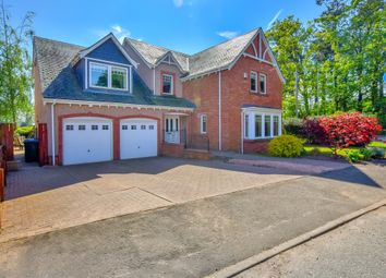 Thumbnail 5 bed detached house for sale in Orchard Way, Inchture, Perth