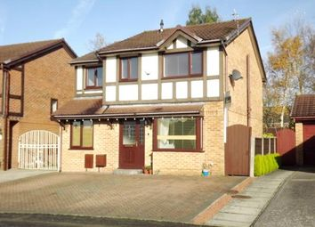 Thumbnail 4 bed detached house for sale in Firsby Avenue, Bredbury, Stockport, Greater Manchester