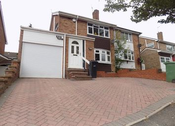 Thumbnail 3 bed semi-detached house to rent in Balmoral Road, Stourbridge