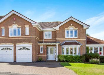 Thumbnail 5 bed detached house for sale in Greenfield Avenue, Balsall Common, Coventry