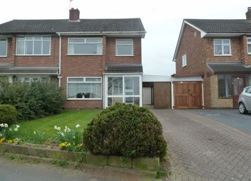 Thumbnail 3 bed semi-detached house for sale in Wiclif Way, Stockingford, Nuneaton