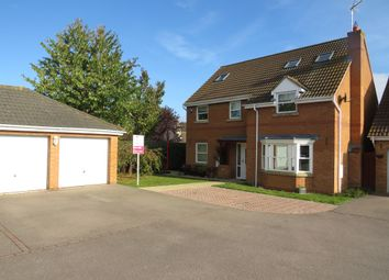 Thumbnail 6 bed detached house for sale in Alvis Drive, Yaxley, Peterborough