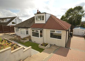 Thumbnail 3 bed semi-detached bungalow for sale in Banksfield Avenue, Yeadon, Leeds, West Yorkshire