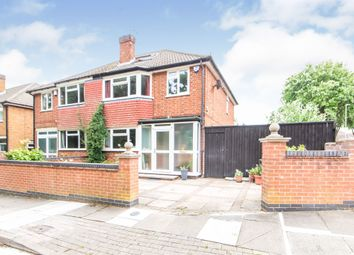 3 bed semi-detached house for sale in Angela Drive, Evington, Leicester LE5