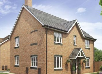 Thumbnail 4 bed detached house for sale in Bramshall Road, Uttoxeter, Staffordshire