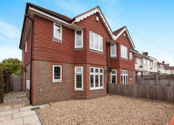 Thumbnail 3 bed semi-detached house for sale in Wallis Avenue, Eastbourne