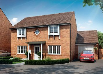 Thumbnail 4 bed detached house for sale in Warren Grove, Robell Way, Storrington