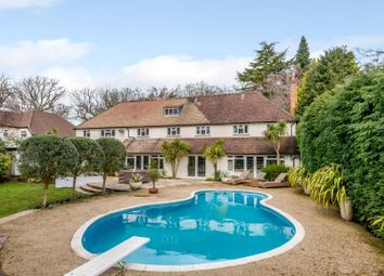 Thumbnail 5 bed detached house to rent in The Quillot, Burwood Park, Hersham, Walton-On-Thames