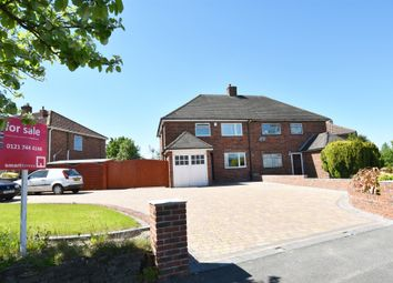 Thumbnail 3 bed semi-detached house for sale in Old Lode Lane, Solihull