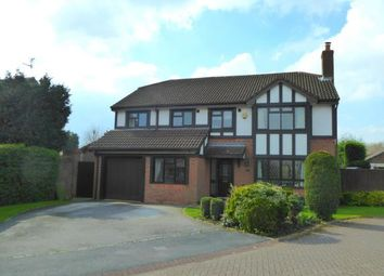 Thumbnail 5 bed detached house for sale in Foxhills Close, Appleton, Warrington, Cheshire