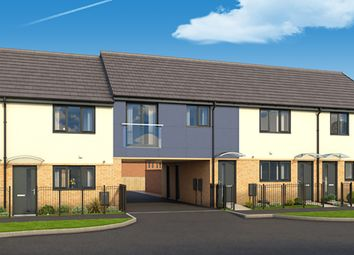"""Thumbnail 2 bedroom town house for sale in """"The Hartley"""" at Fletcher Way, Peterborough"""