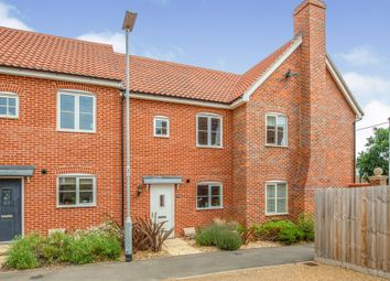 Thumbnail 2 bed terraced house for sale in Walne Close, Framlingham, Woodbridge