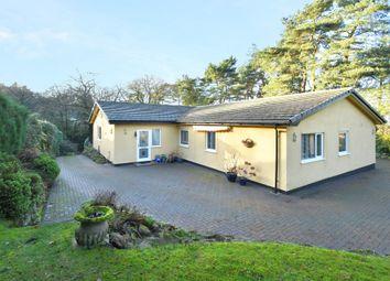 Linden Lea, Pinetrees Lane, Ashley Heath, Market Drayton TF9. 4 bed bungalow for sale