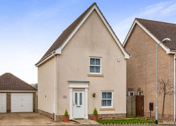 Thumbnail 3 bedroom detached house for sale in Field Maple Road, Watton, Thetford
