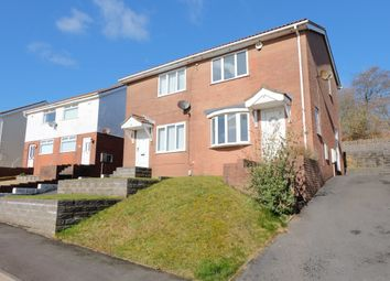 Thumbnail 2 bed semi-detached house to rent in Bryn Eglur Road, Morriston, Swansea