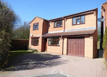 Thumbnail 5 bed detached house for sale in Stone Pine Close, Cannock, Staffordshire