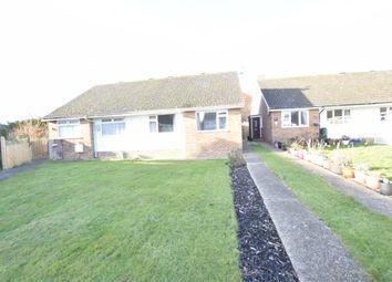 Thumbnail 2 bedroom semi-detached bungalow to rent in Bramble Drive, Hailsham, East Sussex