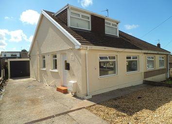 Thumbnail 3 bed bungalow for sale in Burns Crescent, Cefn Glas, Bridgend