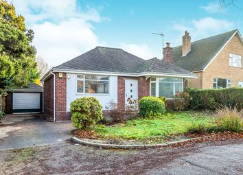 Thumbnail 3 bed bungalow for sale in Chester Road, Holmes Chapel, Crewe
