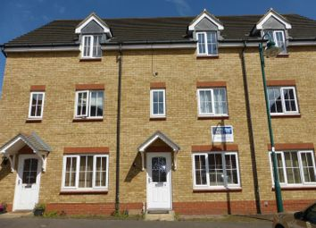 Thumbnail 3 bed town house for sale in Applewood Drive, Hampton Hargate, Peterborough