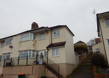 Thumbnail 4 bed semi-detached house to rent in Wordsworth Road, Newport