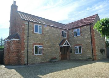 Thumbnail 4 bed detached house for sale in Northorpe, Thurlby, Bourne, Lincolnshire