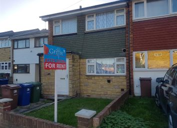 Thumbnail 3 bed property to rent in Toft Avenue, Grays