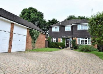 Thumbnail 4 bed detached house for sale in Highwayman's Ridge, Windlesham, Surrey