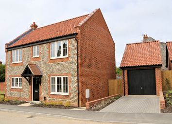 Thumbnail 3 bed detached house to rent in Gallus Close, Northrepps, Cromer