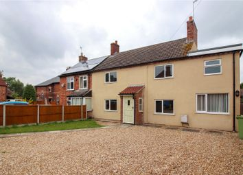 Thumbnail 3 bedroom semi-detached house for sale in Skirbeck Drive, Saxilby, Lincoln