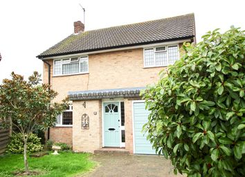 Thumbnail 3 bed detached house for sale in Grant Close, Shepperton
