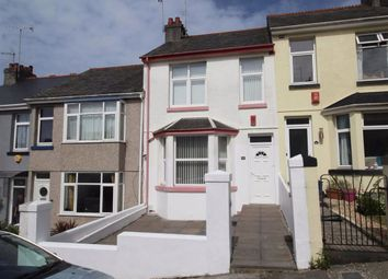 3 bed terraced house for sale in Fisher Road, Milehouse, Plymouth PL2
