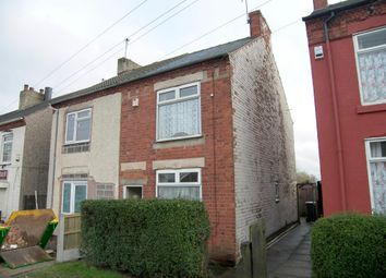 Thumbnail 2 bed semi-detached house for sale in The Common, South Normanton, Alfreton