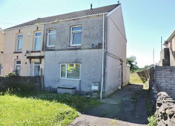 Thumbnail 2 bed semi-detached house for sale in Llanerch Road, Bonymaen, Swansea