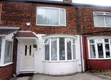 Thumbnail 2 bed terraced house for sale in Graham Avenue, Hull