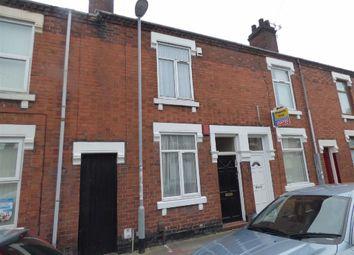 Thumbnail 2 bedroom terraced house for sale in Ashford Street, Shelton, Stoke-On-Trent