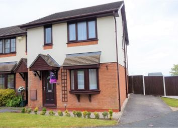 Thumbnail 3 bed end terrace house for sale in Uwch Y Mor, Holywell