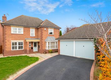 Thumbnail 4 bed detached house for sale in Vanguard Court, Sleaford, Lincolnshire