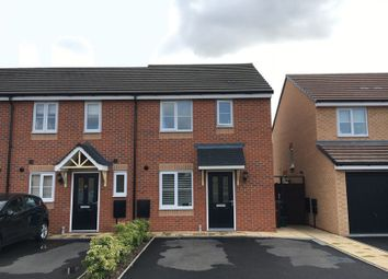 Thumbnail 3 bedroom end terrace house for sale in Tomkys Gardens, Wards Bridge Drive, Wednesfield, Wolverhampton