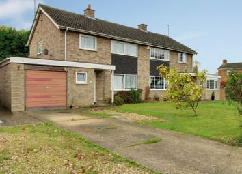 Thumbnail 3 bed semi-detached house for sale in Rosemary Drive, Bedford, Bedfordshire