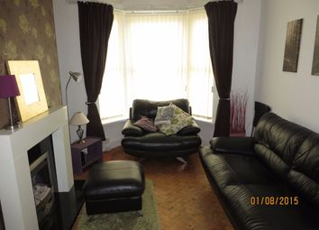 Thumbnail 3 bedroom terraced house to rent in Adelaide Road, Kensington, Liverpool