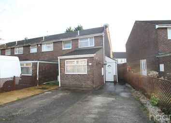 Thumbnail 3 bed end terrace house to rent in Bideford Road, Newport