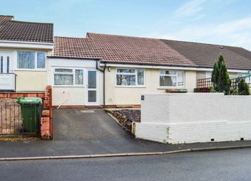 Thumbnail 3 bed terraced bungalow for sale in St. Davids Road, Maesycwmmer, Hengoed