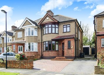 Thumbnail 3 bed semi-detached house for sale in Whitethorn Gardens, Enfield