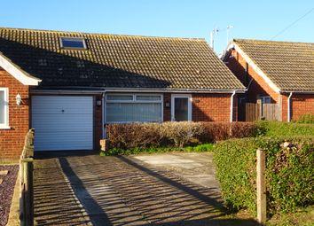 Thumbnail 3 bed semi-detached bungalow for sale in Merritt Road, Greatstone, New Romney, Kent